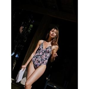 Free People Synthetic Jolene One Piece Floral Swimsuit by Rhythm